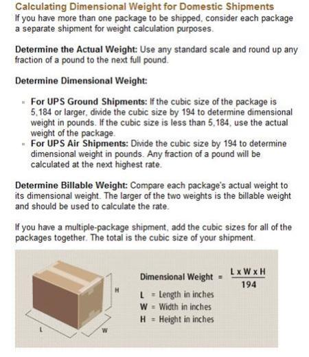 83783e55b39 ... calculate dimensional weight