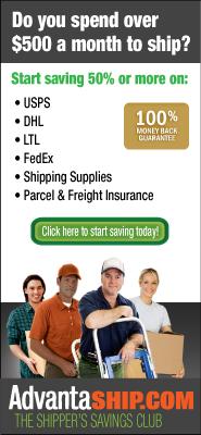 Shipping Coach Advertisement